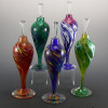 Jewel Cone -color:left to right- Hot Mix, Cool Mix, Rainbow, Pink/Blue, Green/White