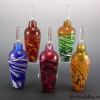 Jewel Lil Flame-color:left to right-Blue/White, Hot Mix, Pink/Green, Amber/Green, Salmon