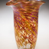 Iridized Rowena Vase-color: Hot Mix