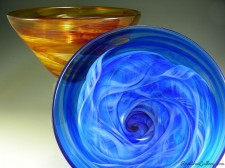 Deep Bowl Regular-color:Amber, Blue