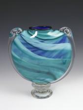 M&M Vase-color: Blue/Green