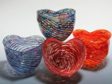 Optic Heart Bowls