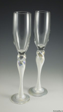 Champagne Glass-color: Ivory