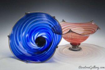 Regal Bowls-color:Blue, Red
