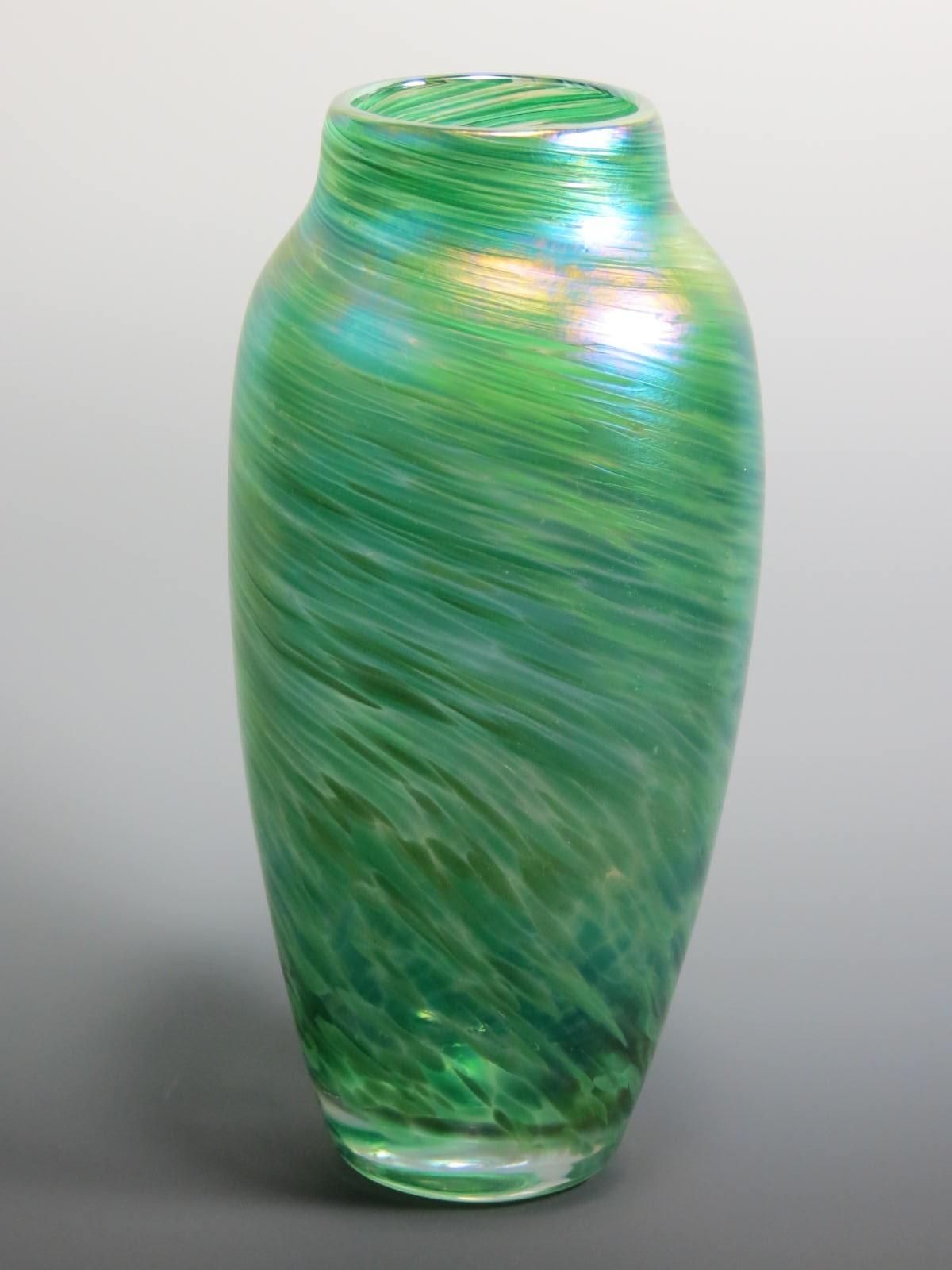 Spun Vase Rosetree Blown Glass