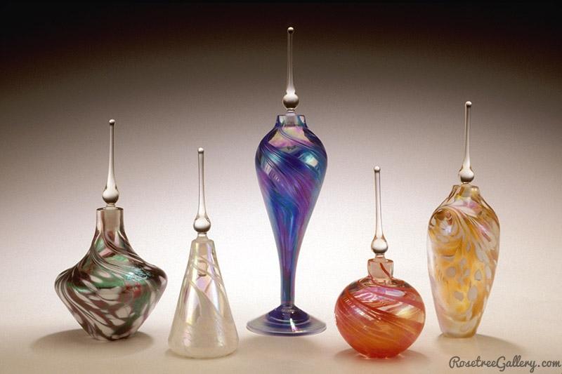 Blown Glass Carousel